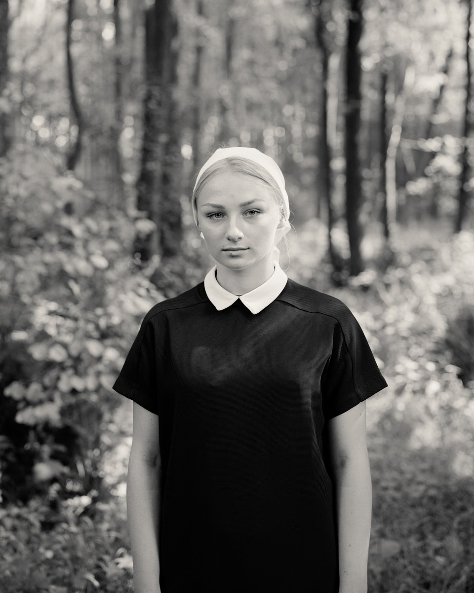 Untitled from the series 'Ex-Voto' / Sinar F2 5x4 / Kodak T-MAX 100 / taken in Grabarka, Poland and Lourdes, France