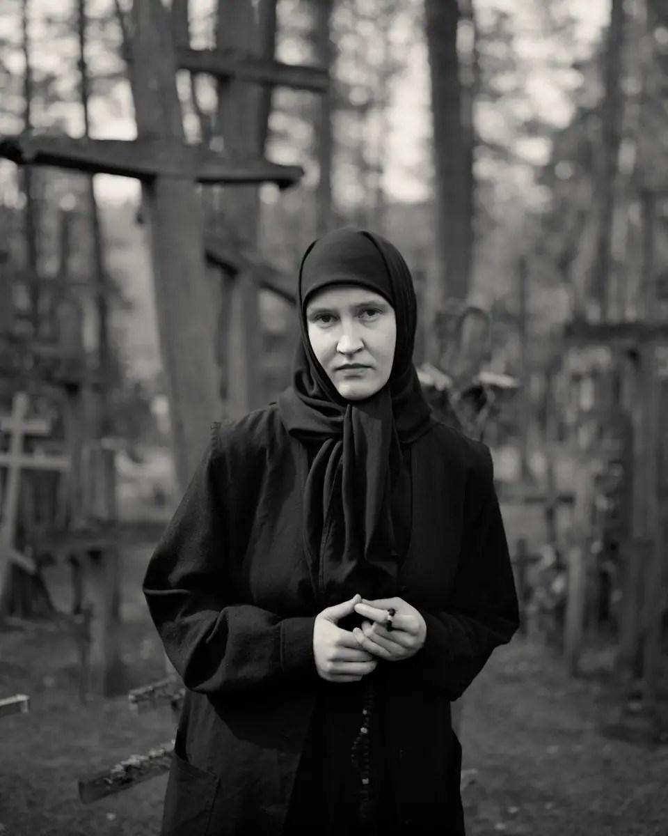Untitled from the series 'Ex-Voto' / Sinar F2 5x4 / Kodak T-MAX 100 / taken in Grabarka, Poland