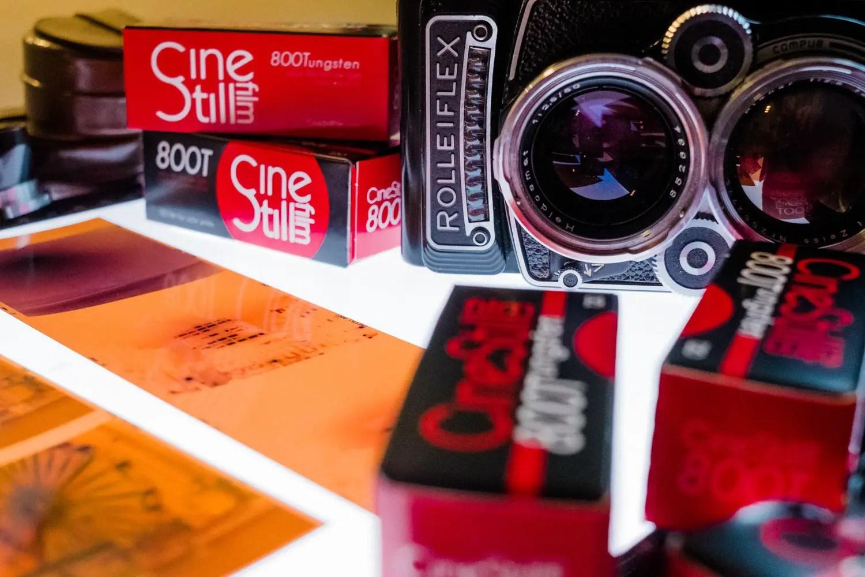 Kris Askey - Rolleiflex 2.8F and Cinestill 800T