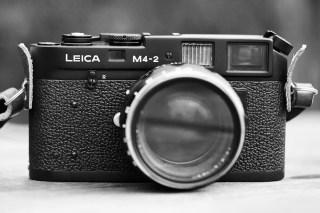 Leica M4-2 and Voigtlander 50mm f/1.2 - Ryan HK