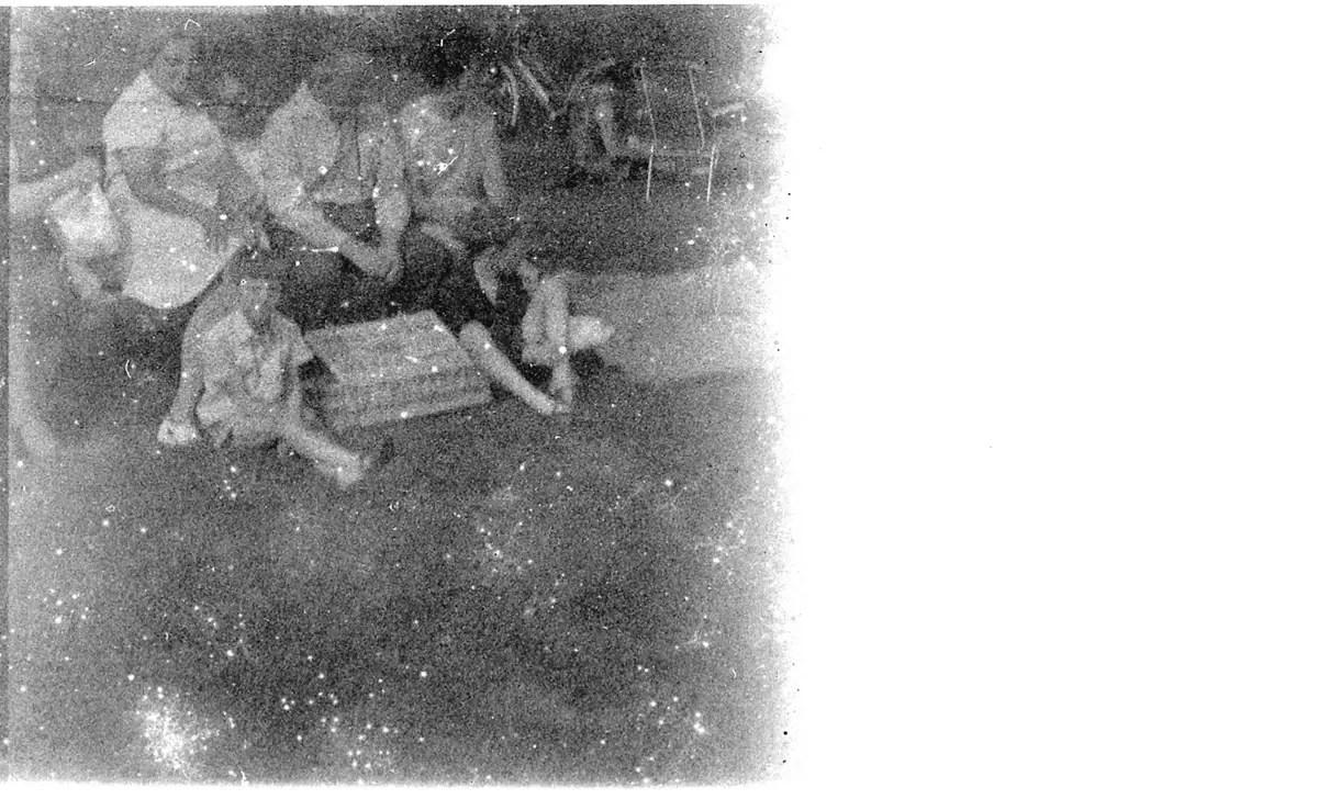Recovered frame - Kodak Verichrome 828 film