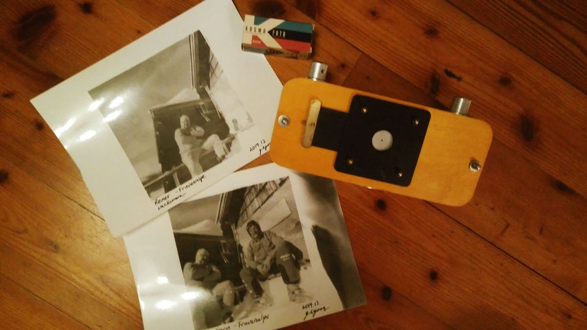 Prints from the darkroom - Vermeer 6x12 pinhole with Kosmo Foto Mono developed with Rodinal