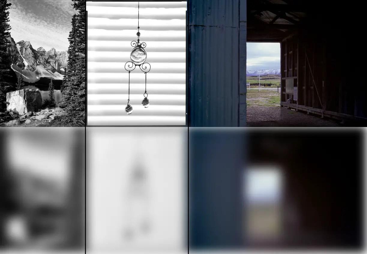 Photograph vs light meter view