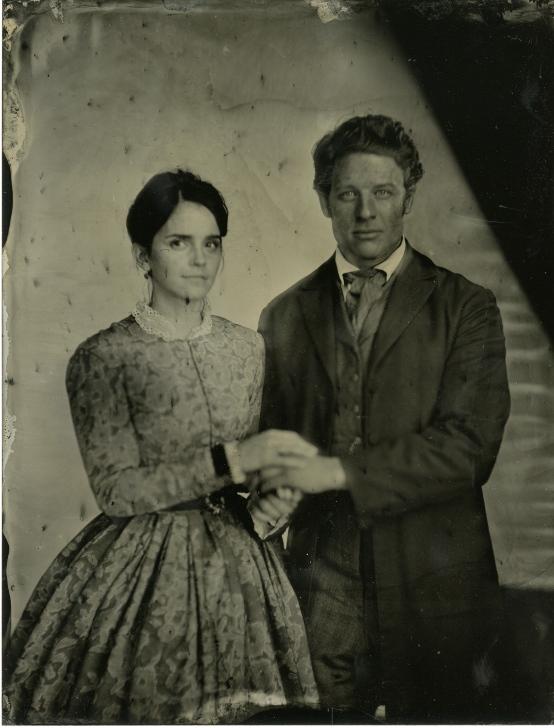 Emma Watson and James Norton wet plate - Wilson Webb, Colombia Pictures - Little Women (2019)