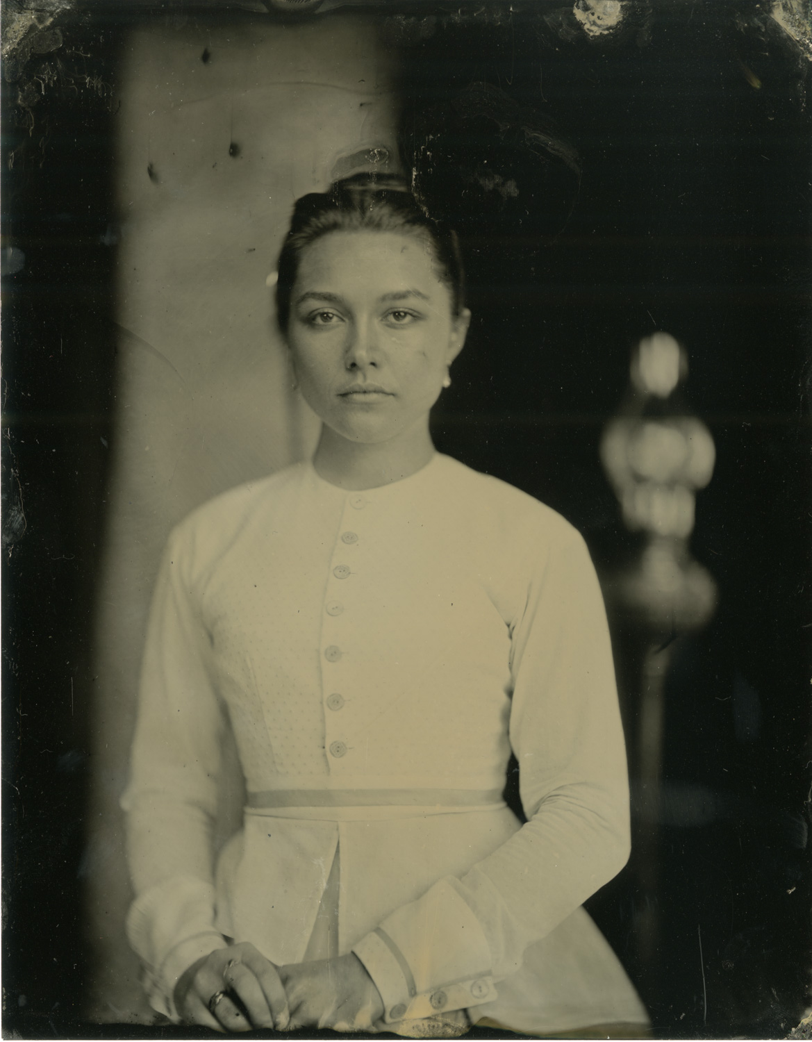 Florence Pugh wet plate - Wilson Webb, Colombia Pictures - Little Women (2019) v3
