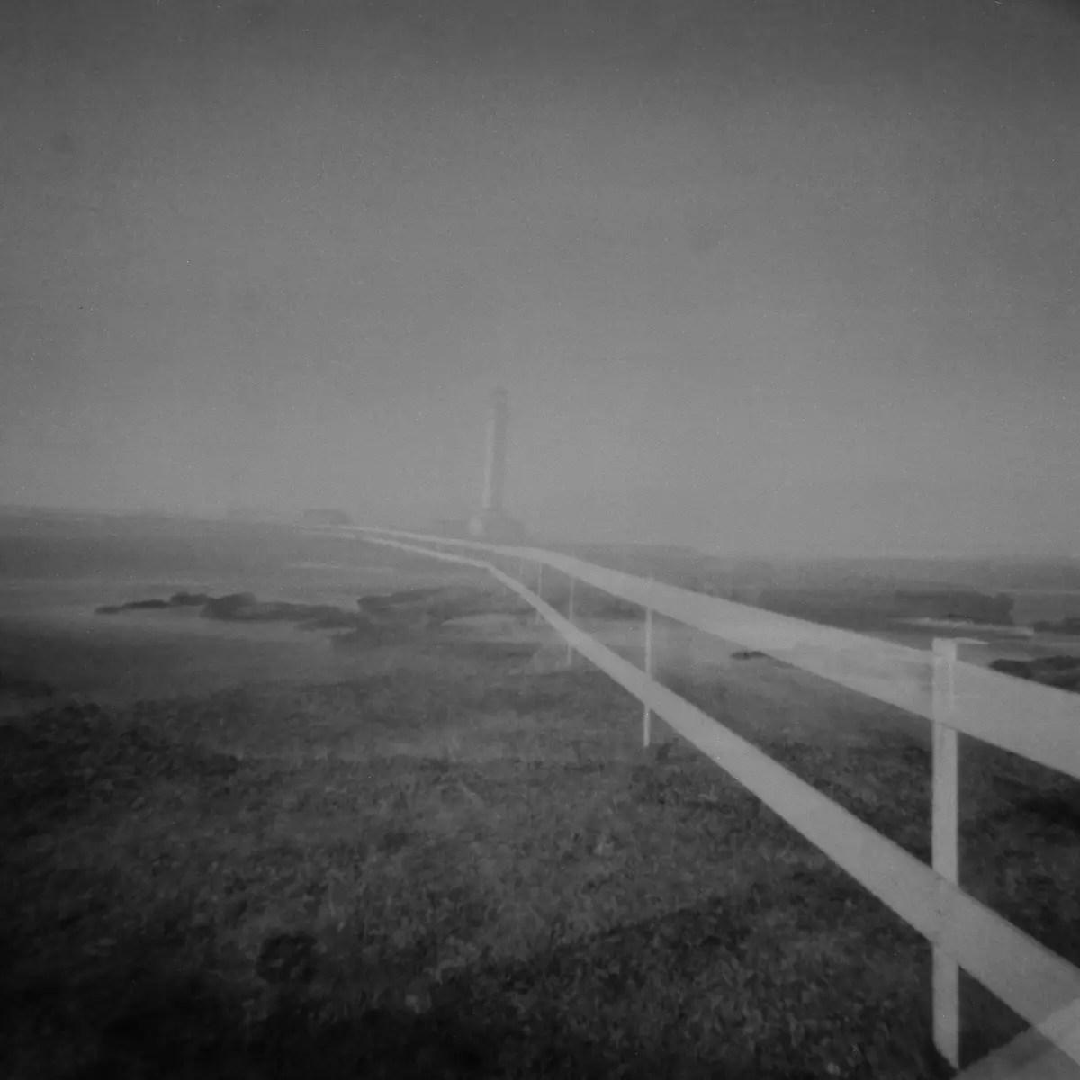 Lighthouse - 5 Frames With... ILFORD PAN F PLUS (EI 50 / 120 format / Vermeer 6x6 Pinhole) - by María Ochoa