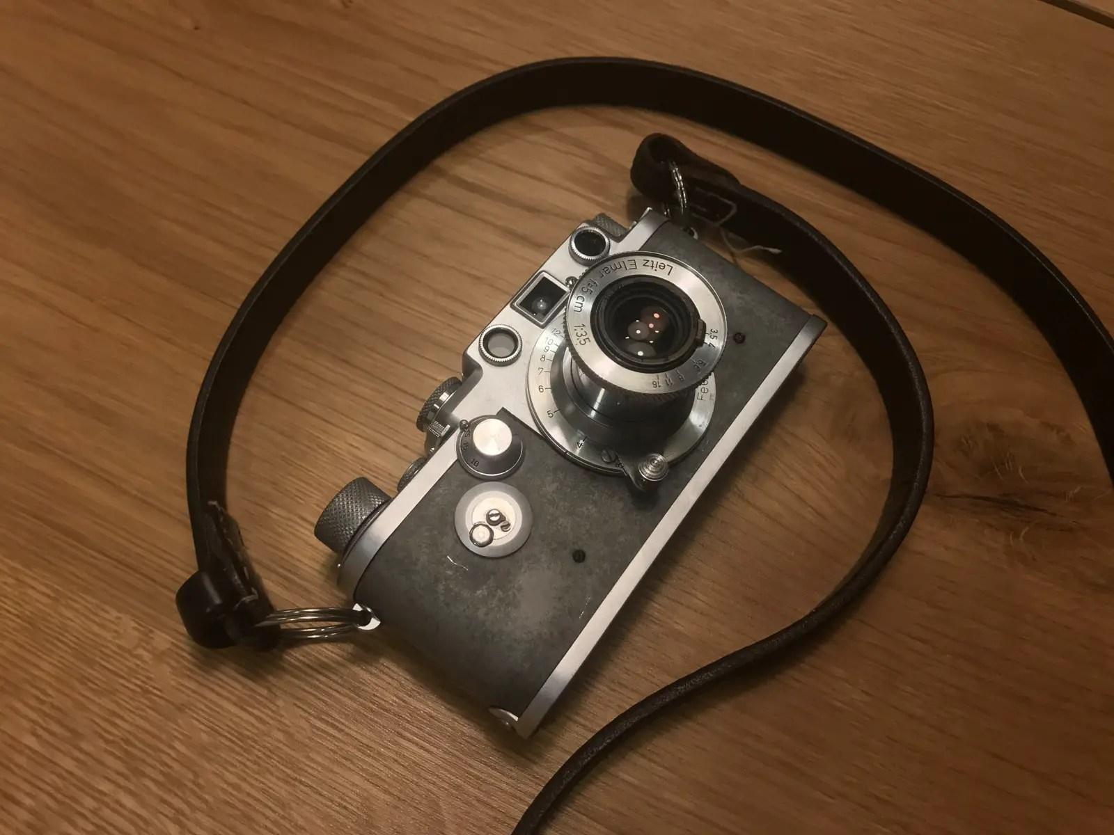 My Leica IIIf and Elmar 5cm f/3.5 lens
