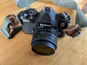 My Nikon FM2n and Nikkor 50mm f/1.8 AF-D