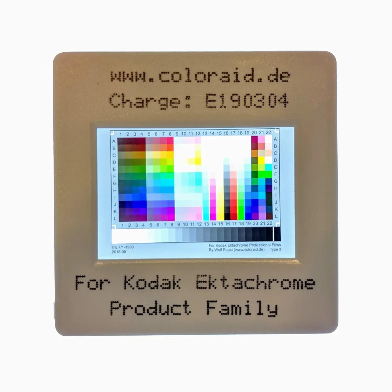 Colouraid Kodak EKTACHROME IT8 scanner target