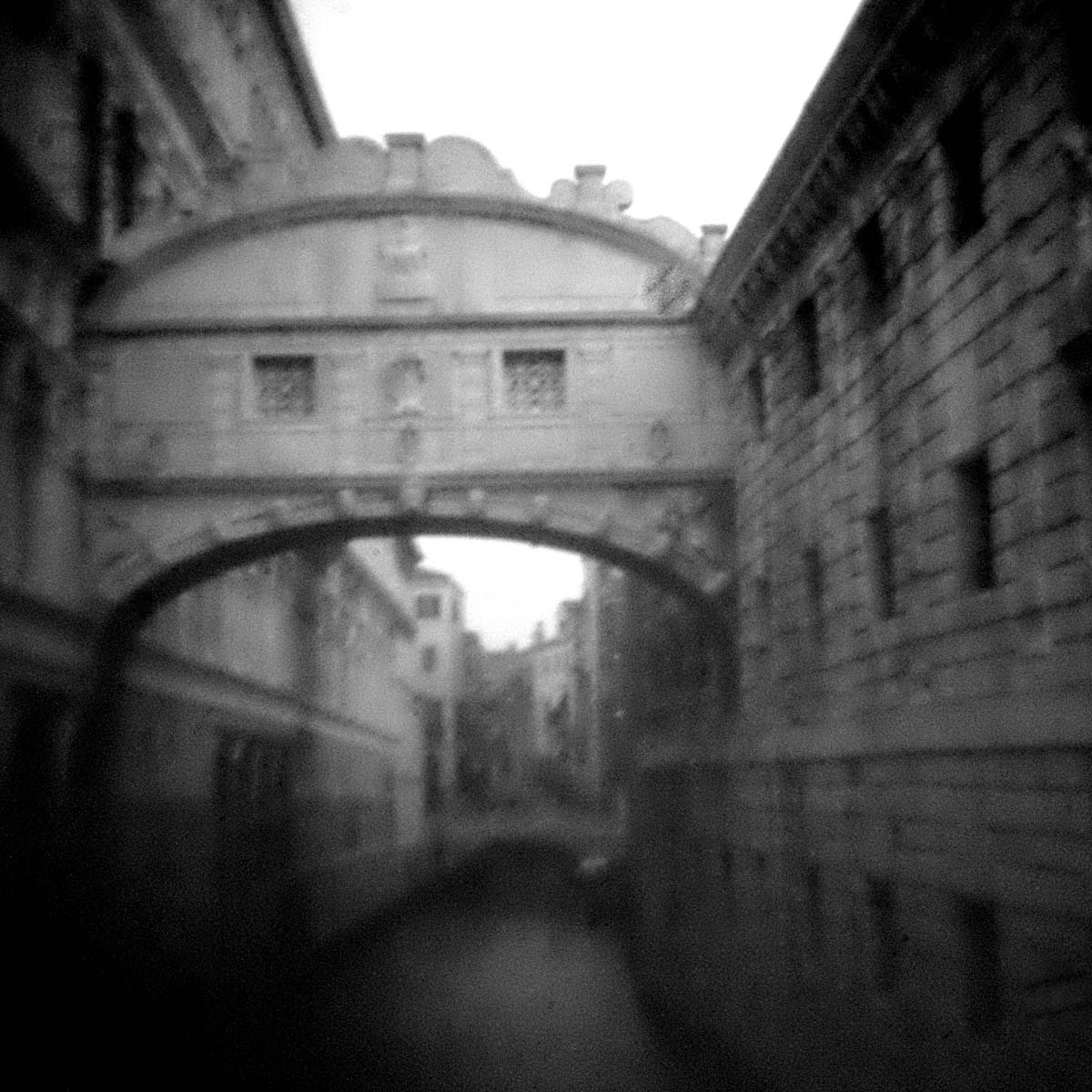 Venezia. Digital image on Fuji X-E2 modified to shoot like a pinhole camera.