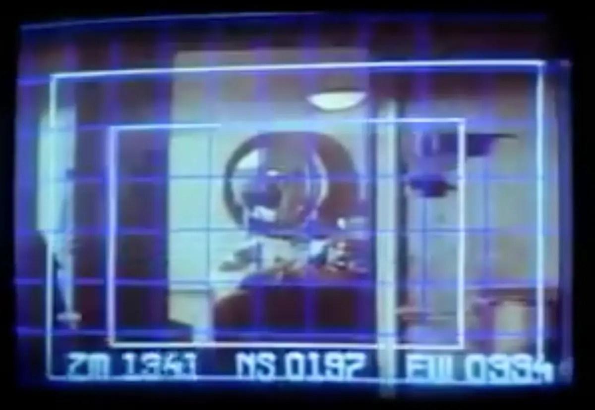 Still taken from Ridley Scott's film, Blade Runner.