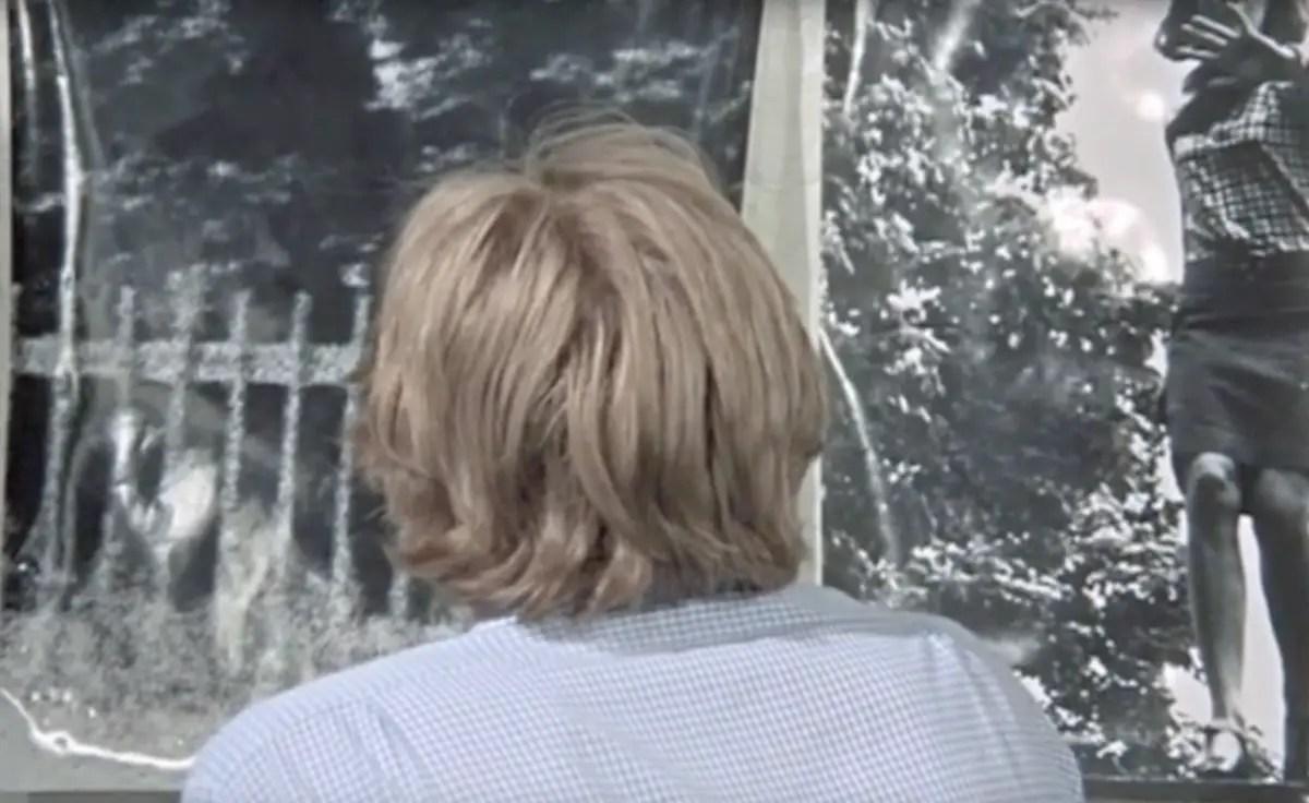 David Hemmings and Vanessa Redgrave in Antonioni's film Blow-Up.