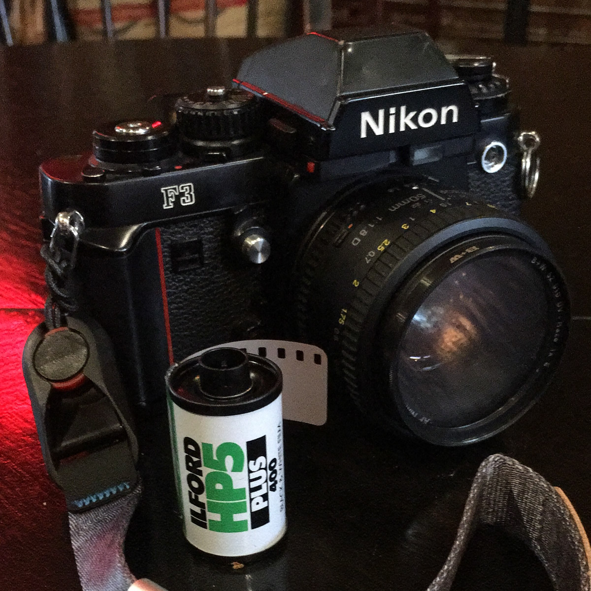 My Nikon F3 and Nikkor 50mm f/1.8 AF-D