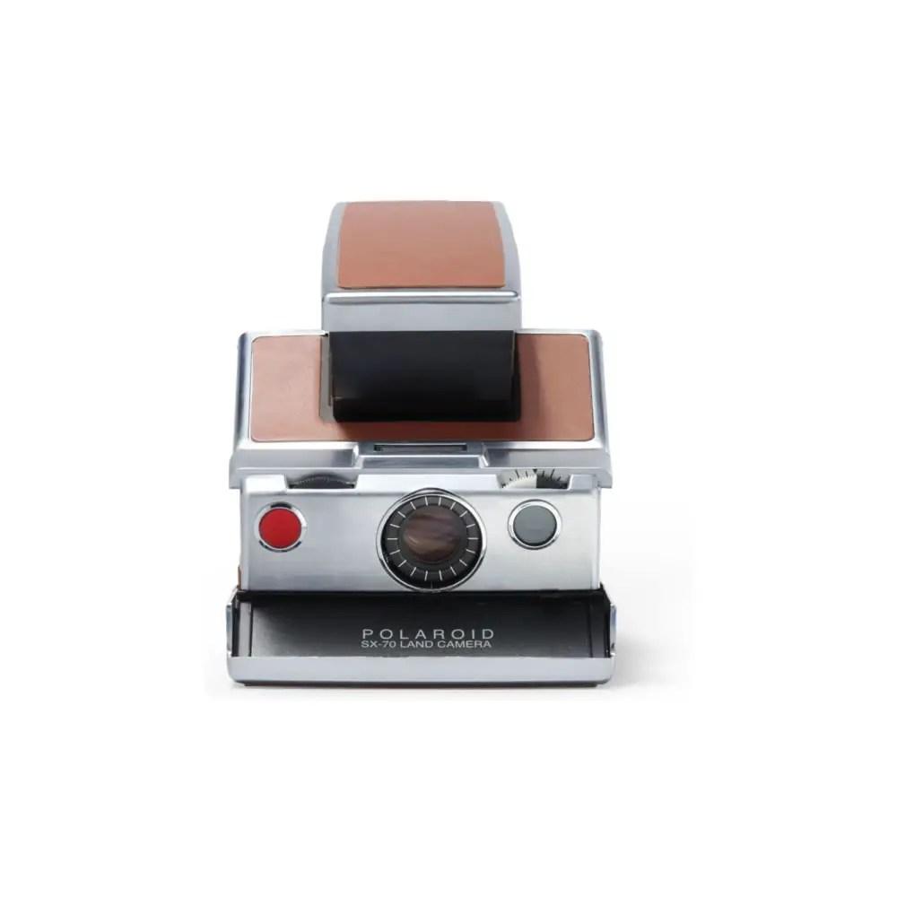 Polaroid SX-70 - Front. Credit: Polaroid.com