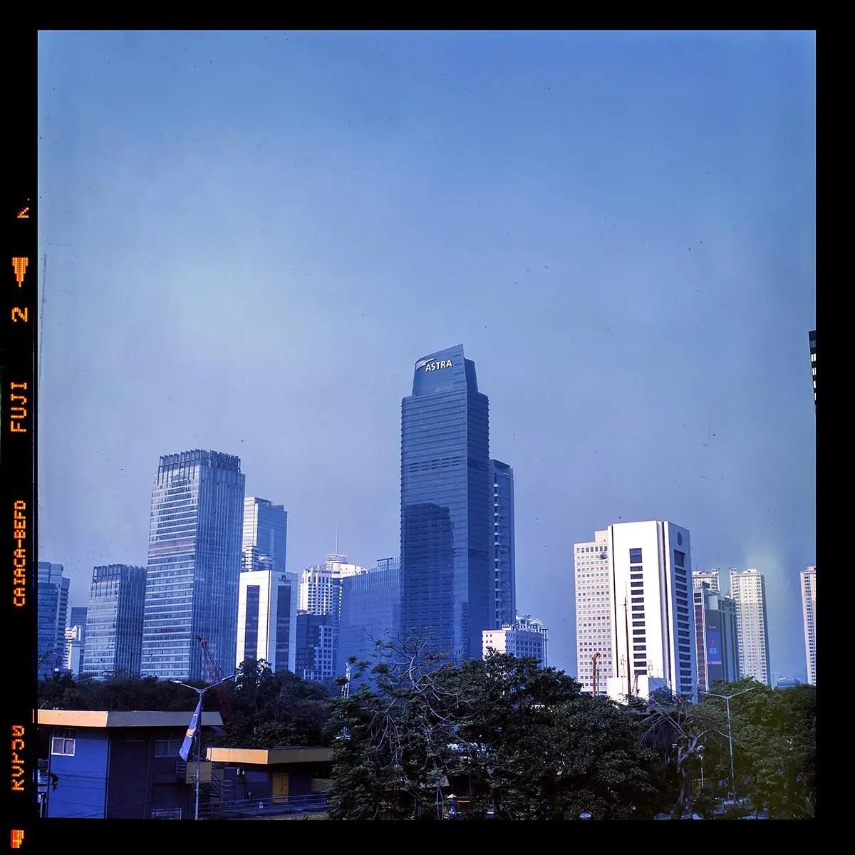 5 Frames... Of Fujifilm Velvia 50 developed using C-41 and BW chemistry (EI 50 / 120 format / Rolleiflex 2.8D) by Mustakim Irsan