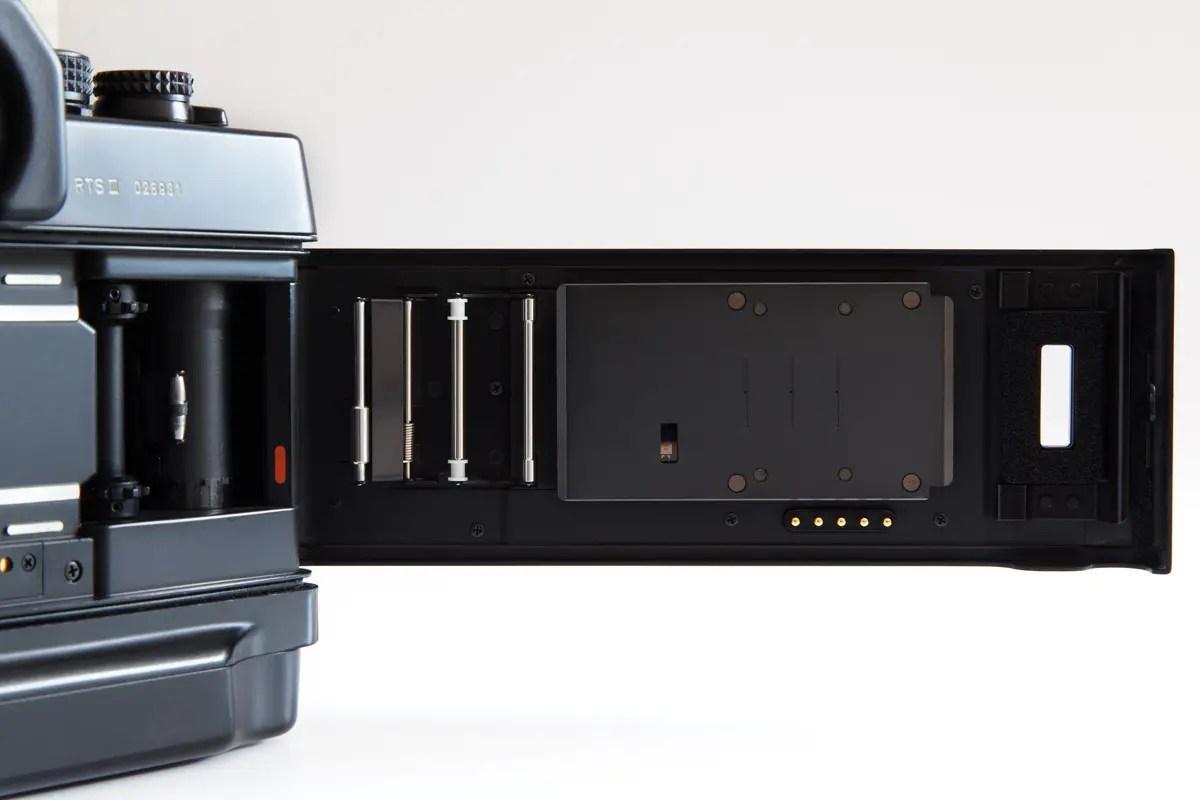 Contax RTS III - RTV vacuum system