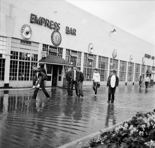 It never rains at Butlins