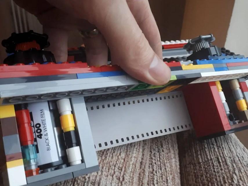 35mm LEGO Pinhole 35mm loaded