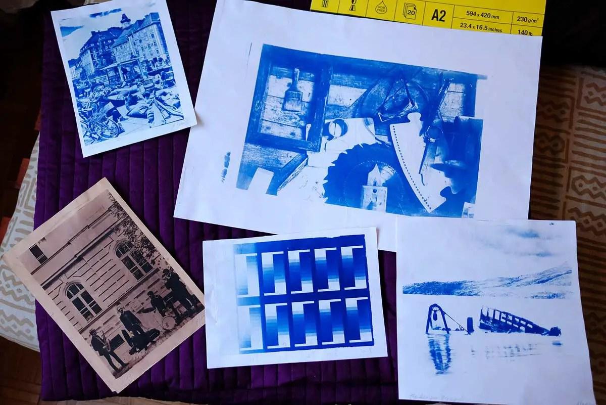 UV LED Box – Selection of prints A4, A2, Tea Toned, Square Size, etc