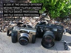 A look at two uniquely different medium format Fujifilm cameras- The Fuji GA645Zi Professional and Fuji GW690III Professional