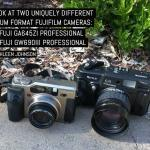 A look at two uniquely different medium format Fujifilm cameras- The Fuji GA645Zi Professional and Fuji GW690III Professional