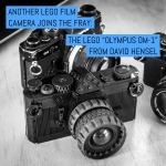 "Another LEGO film camera joins the fray: The ""Olympus OM-1"" from David Hensel"