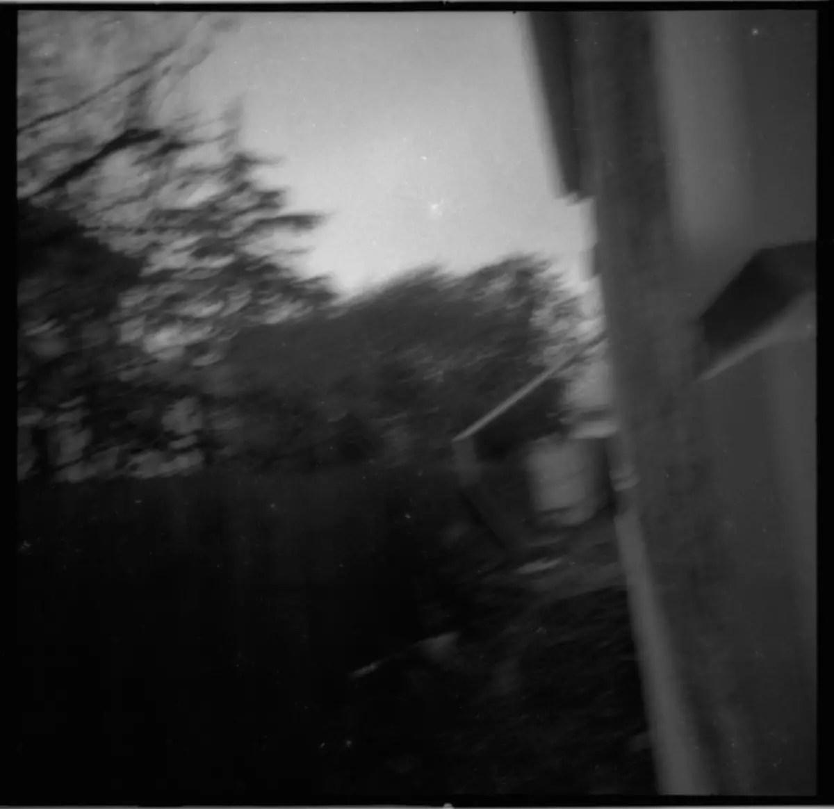 David Hume, first roll of film - 35mm Kodak PLUS-X PAN