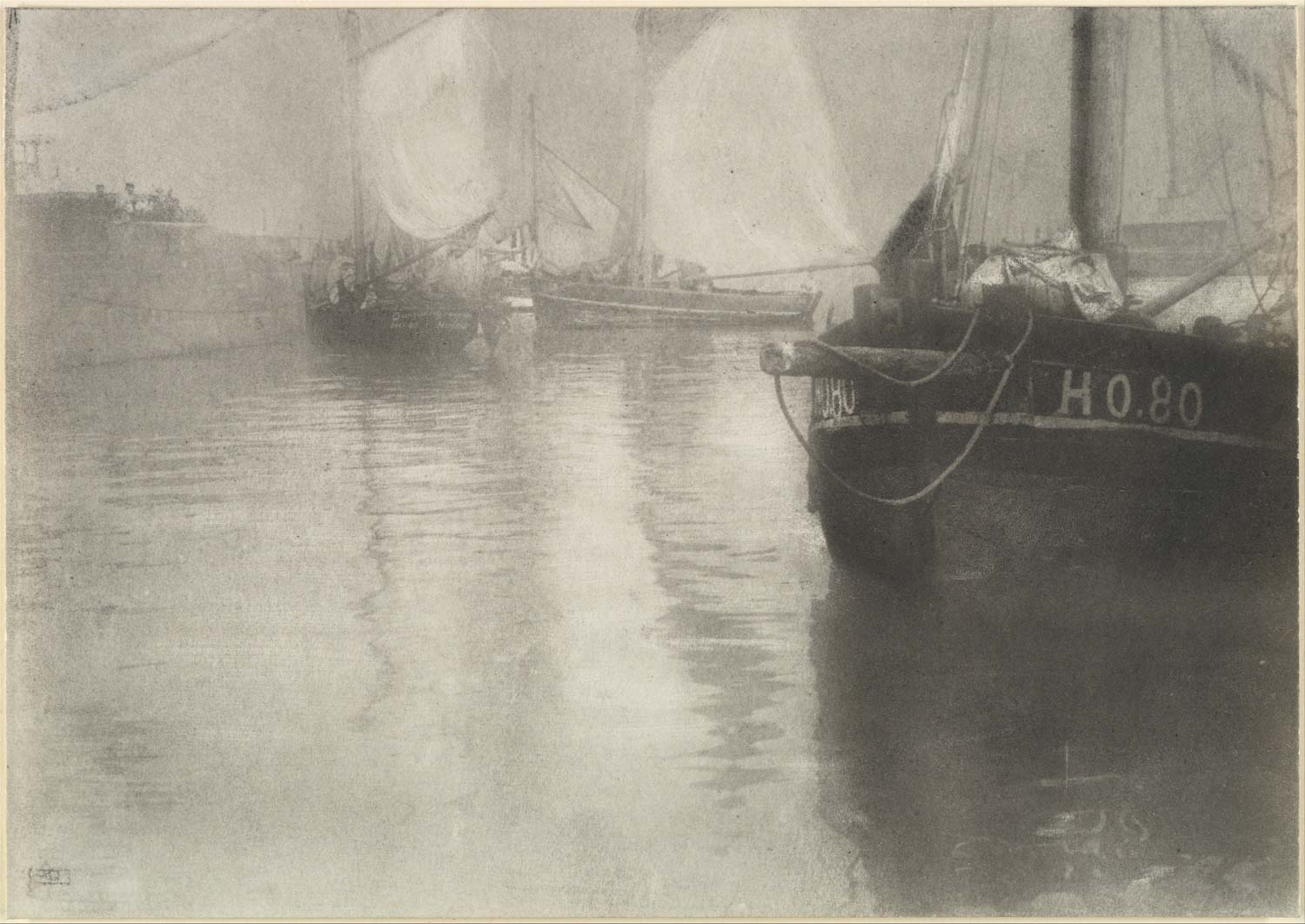 Honfleur, Robert Demachy, 1905, Alfred Stieglitz Collection