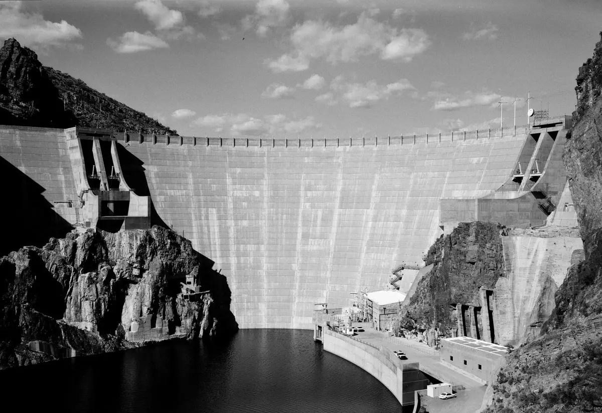 Fuji GW690III Professional - Arizona, Roosevelt Dam