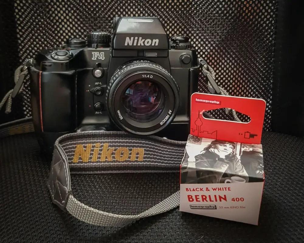 My Nikon F4 and Nikkor 50mm f1.4 AF-D - Tim Dobbs