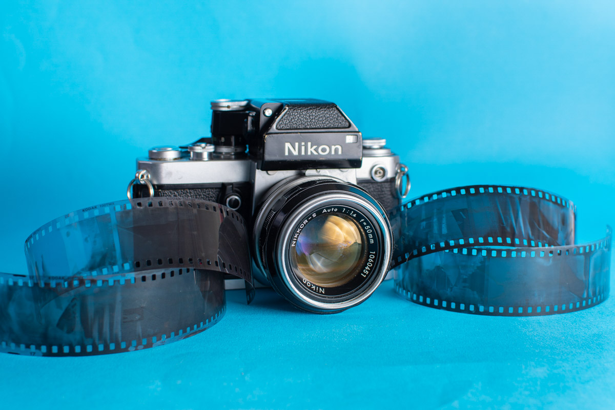 Nikon F2 plus negs - James Harris