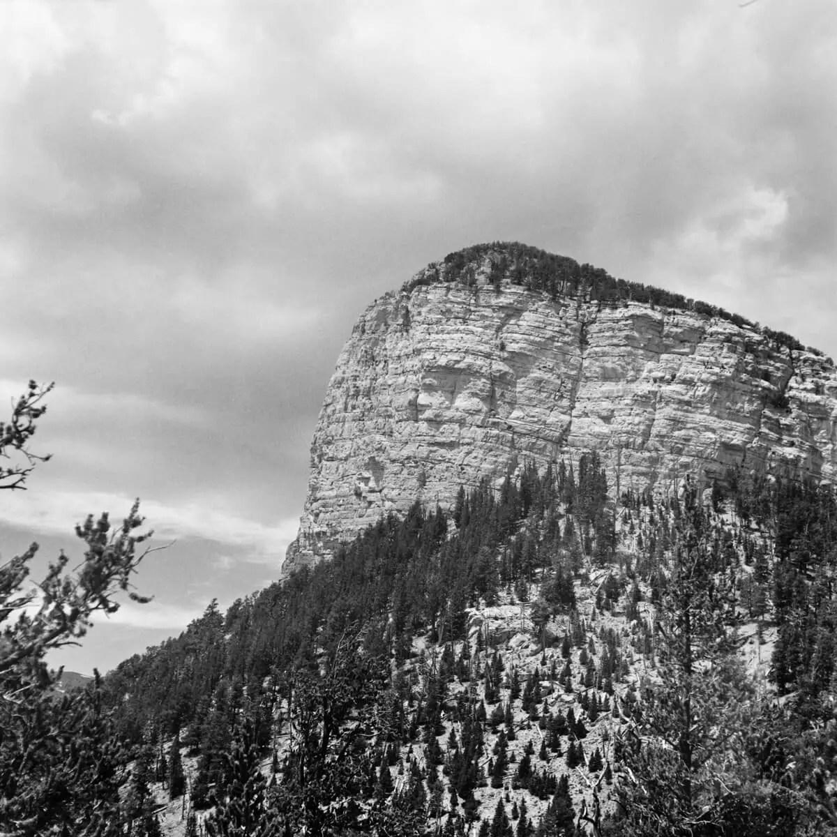 Flethcher Peak - ILFORD FP4 PLUS - Certo Six