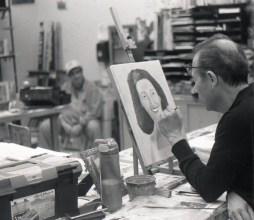 5 Frames... At an art class on Kentmere 400 (EI 400 / 35mm format / Zeiss Contaflex) - by Gary J. Stanford