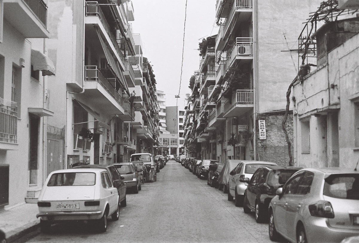 5 Frames... Of Athens on Agfaphoto APX 100 (EI 100 / 35mm format / Pentax ME) - by George Mertikas