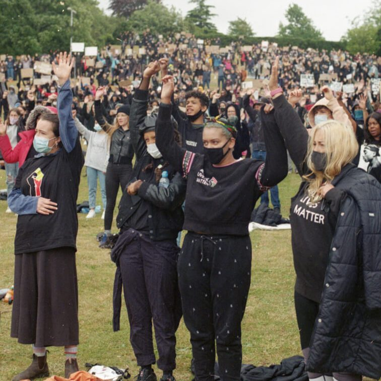 Call to arms - #BlackLivesMatter, Hitchin June 6th 2020