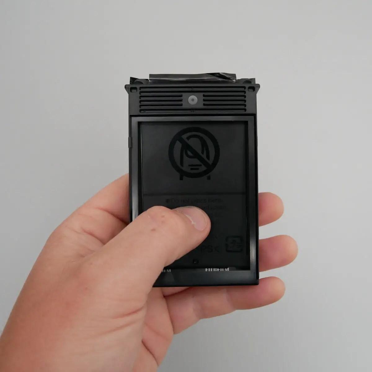 Extraction 1 - Fujifilm Instax Mini in a 35mm camera