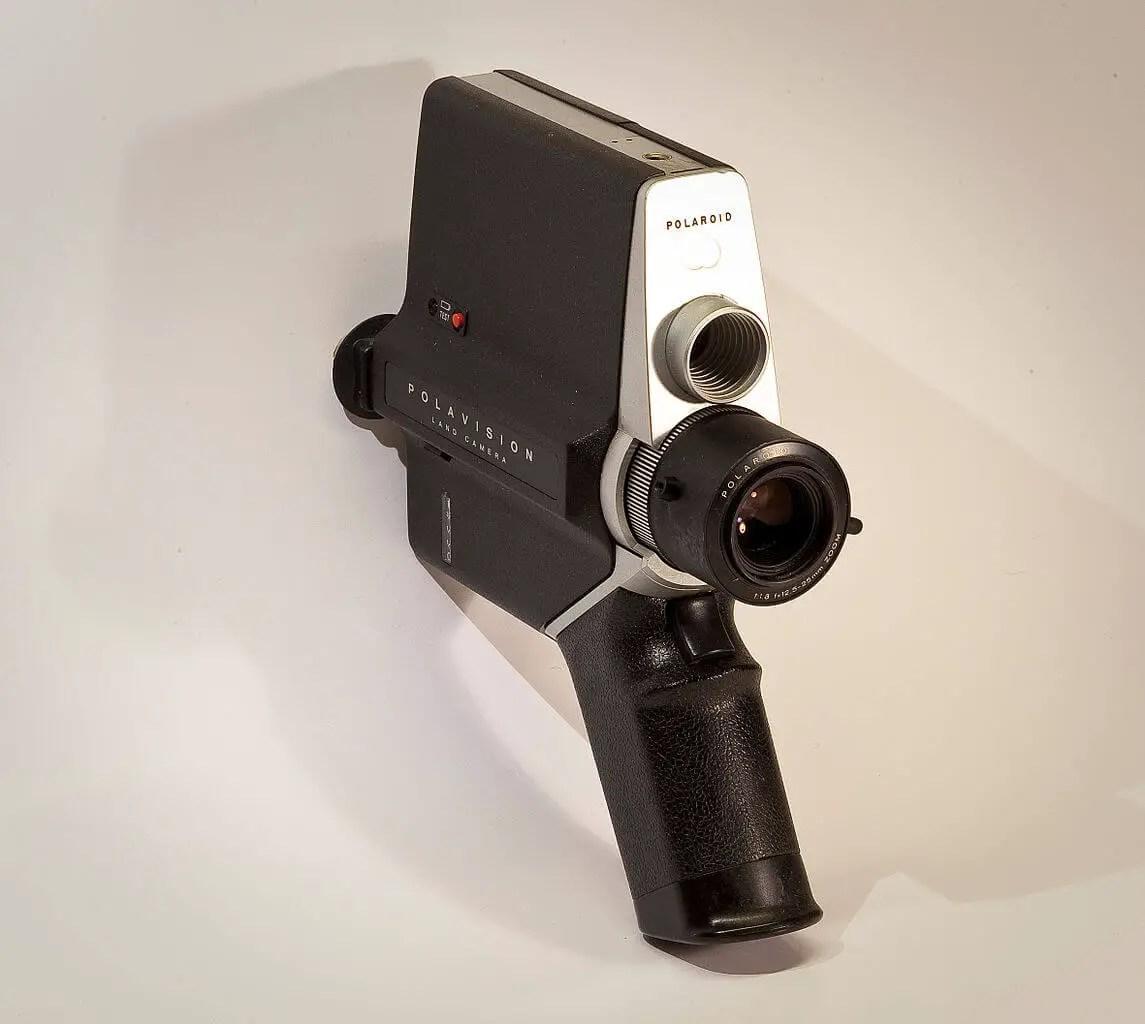 Polavision Landcamera - Polaroid. Press L for Lightbox.