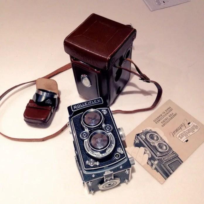 Rolleiflex MX - As received