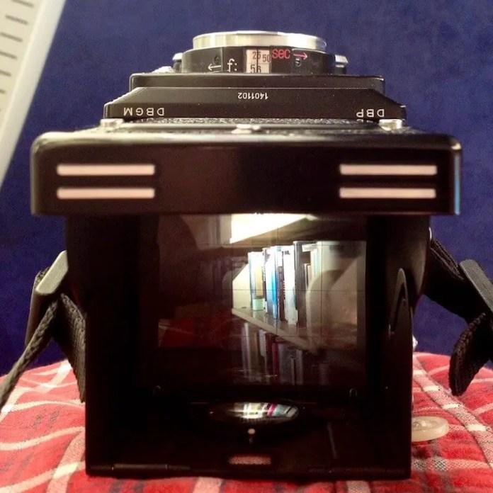 Rolleiflex MX - Viewfinder