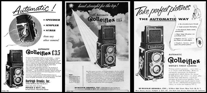 Rolleiflex ads