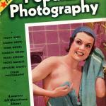 Popular Photo Issue 1, May 1937: Cover photo