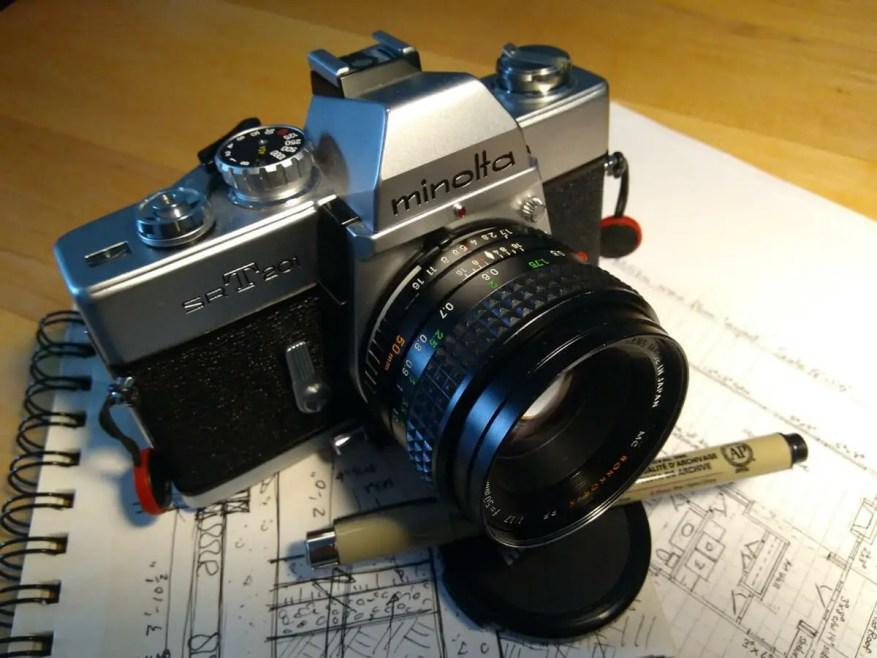 My Minolta SRT 210, Chris Skomorowski