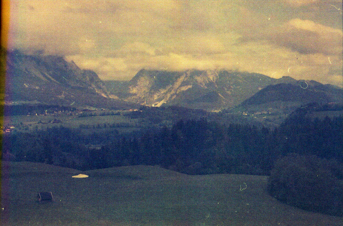 Ramsau am Dachstein – Kodacolor 400 Expired in 1987 + Contaflex Super (New)