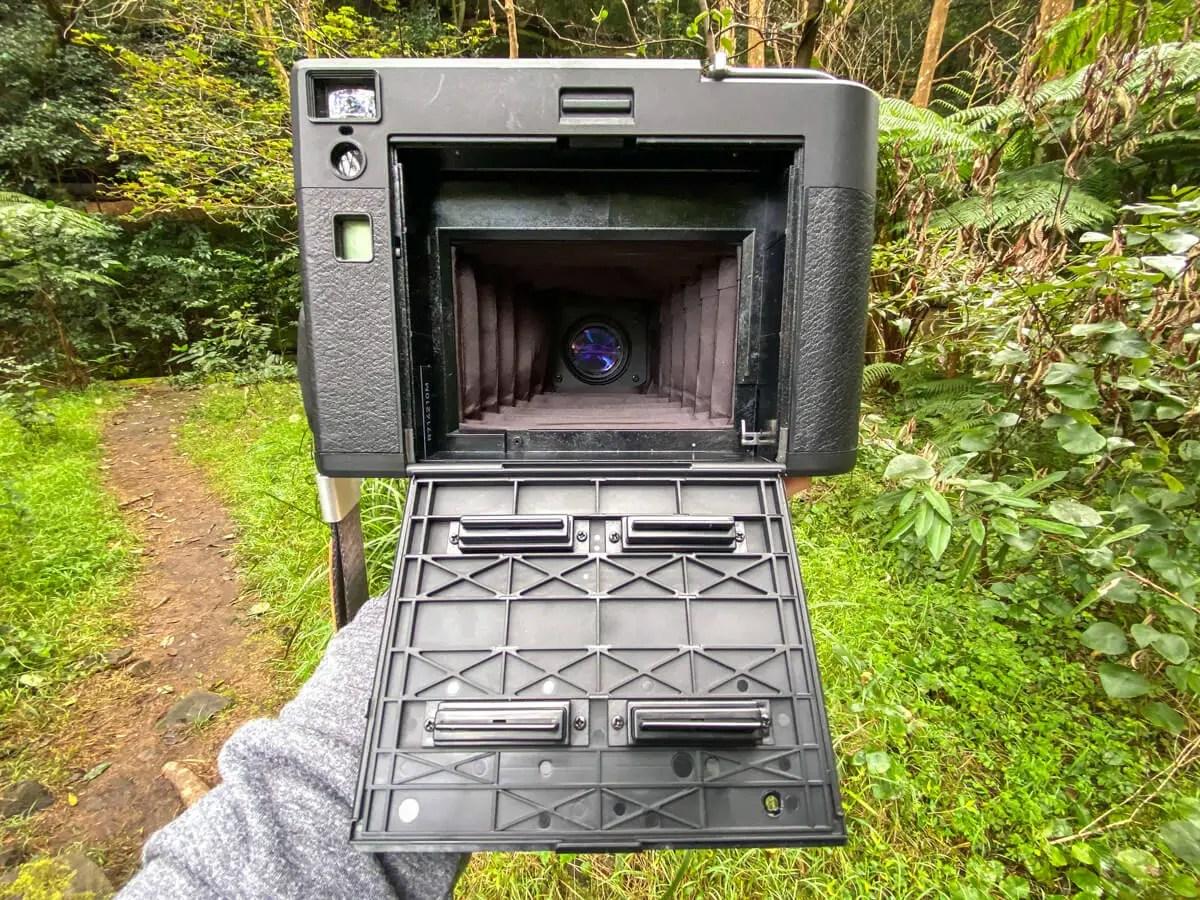 MiNT Instakon RF70 - Back door open