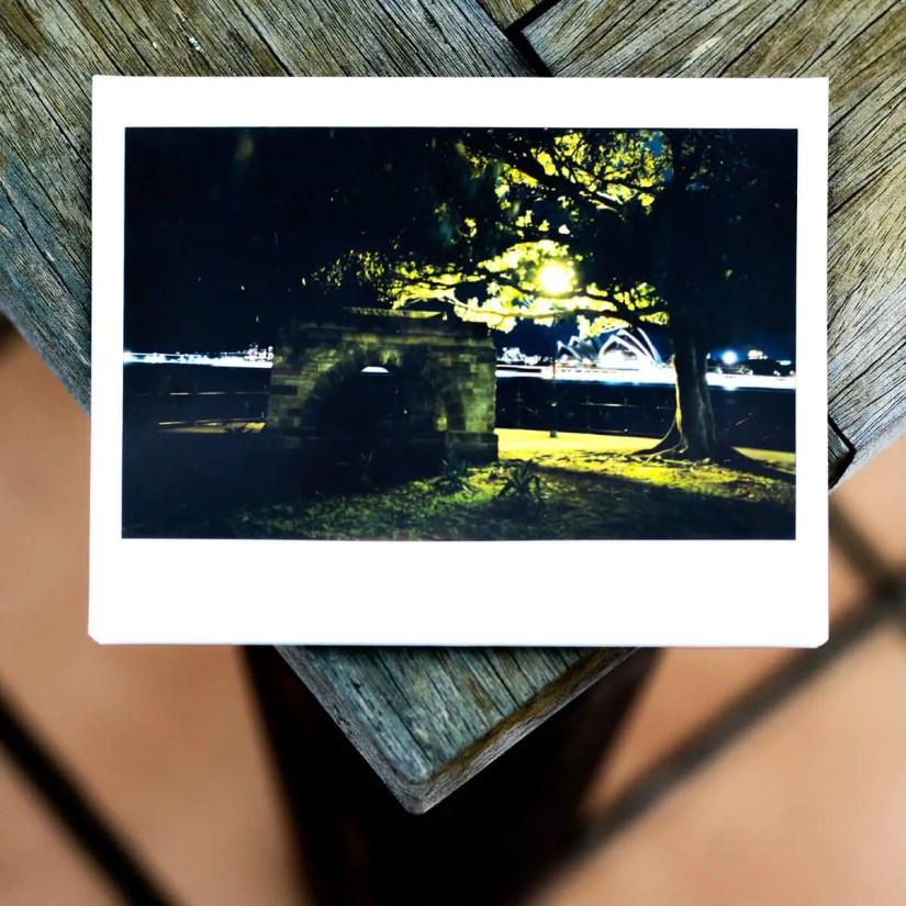 MiNT Instakon RF70 + Fujifilm Instax Wide - Hut and Tree