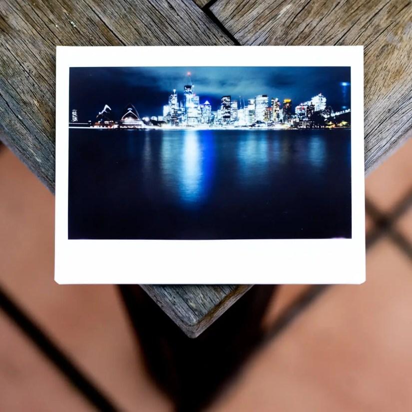 MiNT Instakon RF70 + Fujifilm Instax Wide - The Sydney Skyline