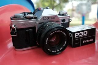 My Canon AE-1 + Canon 50mm f/1.8 FD, Rich Stroffolino