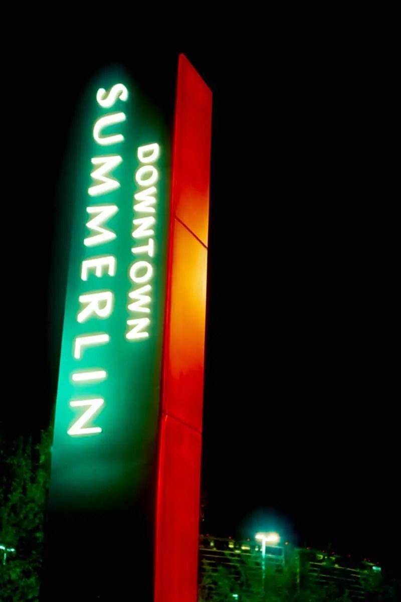 5 Frames... Of the Downtown Summerlin on Cinestill 800T (120 Format / EI 800 / Certo Six + Tessar 80mm f/2.8) - by Alex Morrison