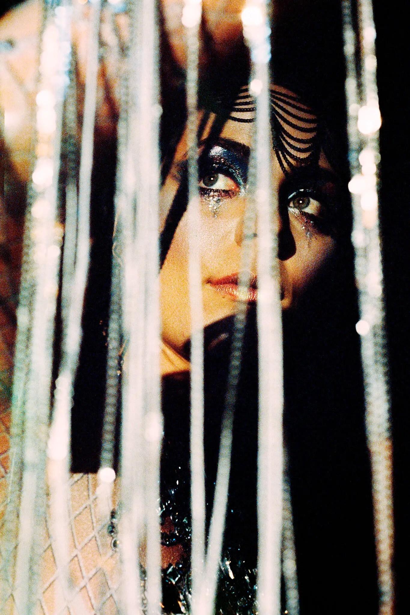 Diamond lights - Breanna Barbara, musician - Leica R6 + Leica 60mm Macro-Elmarit f-2.8, Kodak 5219 Vision3 500T