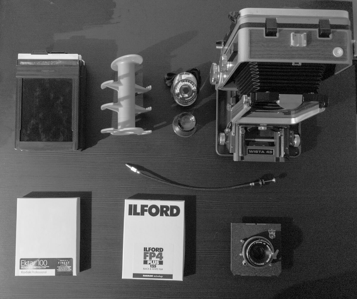 My 4x5 kit
